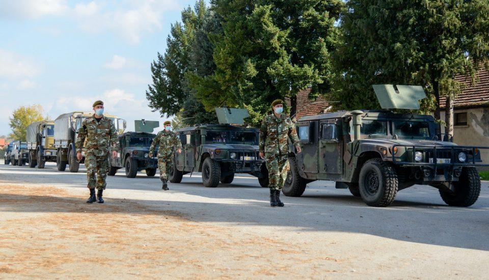 Првиот контингент македонски мировници во КФОР заминаа кон Косово