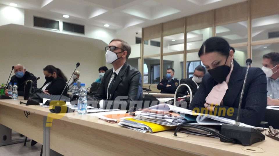 Ова е цензура, рече Боки и побара изземање на судијката Гаврилова поради пристрасност