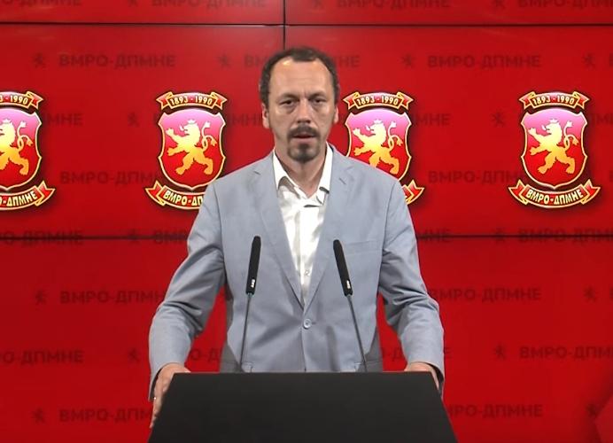 Петрушевски: Заев не зададе само удар кон идентитетот на Македонецот, зададе удар кон достоинството и честа