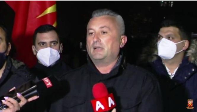 Сајкоски: Владата на Заев нема план за ниту едно прашање, веднаш треба да си поднесе оставка