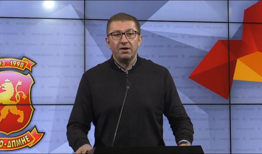 Вонредно обраќање на Мицкоски: Загрижен сум! Ова интервју е прв чекор кон откажување од македонското малцинство