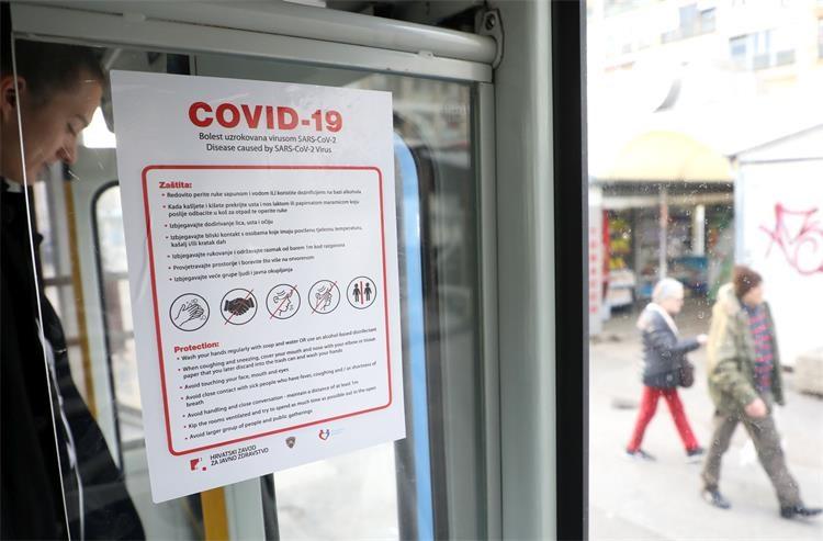 Рекорден број новозарзени во Хрватска: Најавено затворање на кафулињата и рестораните