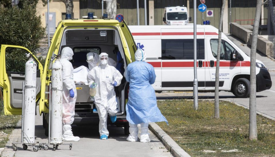 Нови 3.995 случаи на ковид-19 во Хрватска, починаа 68 лица