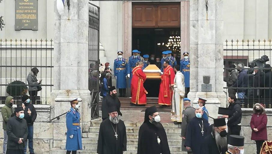 Почна погребот на патријархот Иринеј
