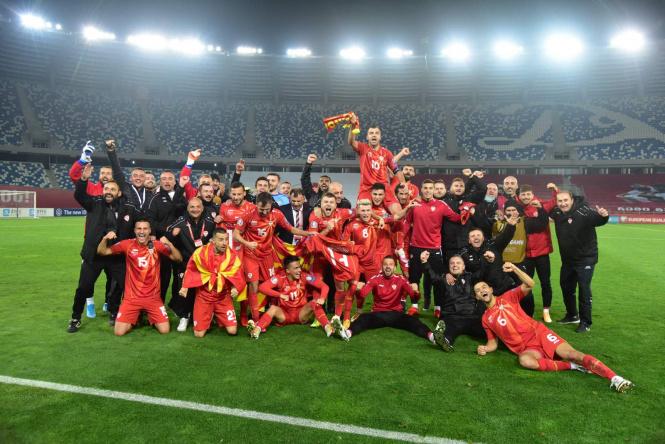 Пендаровски: Браво момци, се гордееме со вас! Одиме на Европско!
