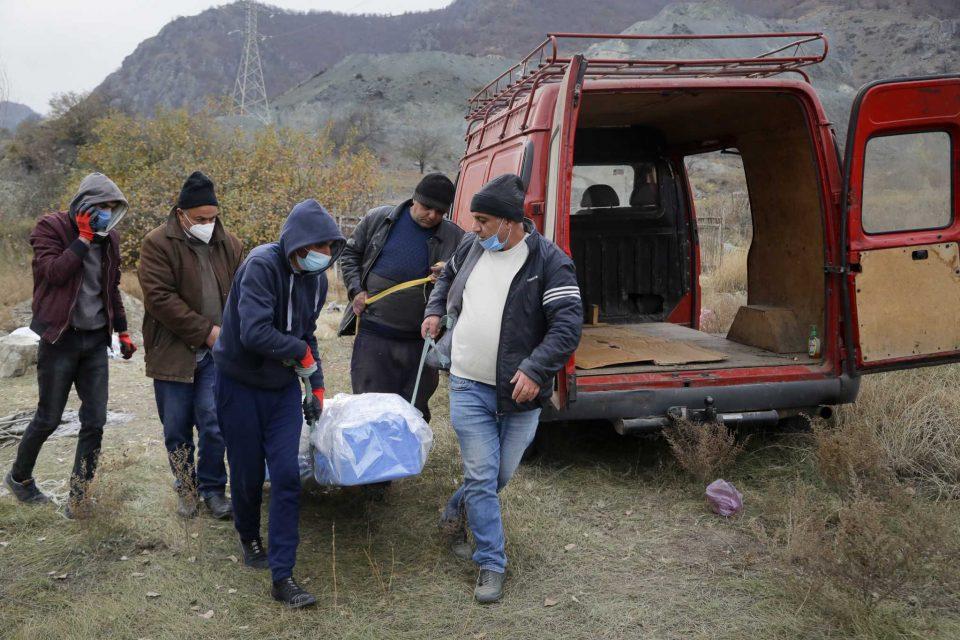 Азербејџан и Ерменија разменија тела на 200 убиени во Нагорно Карабах