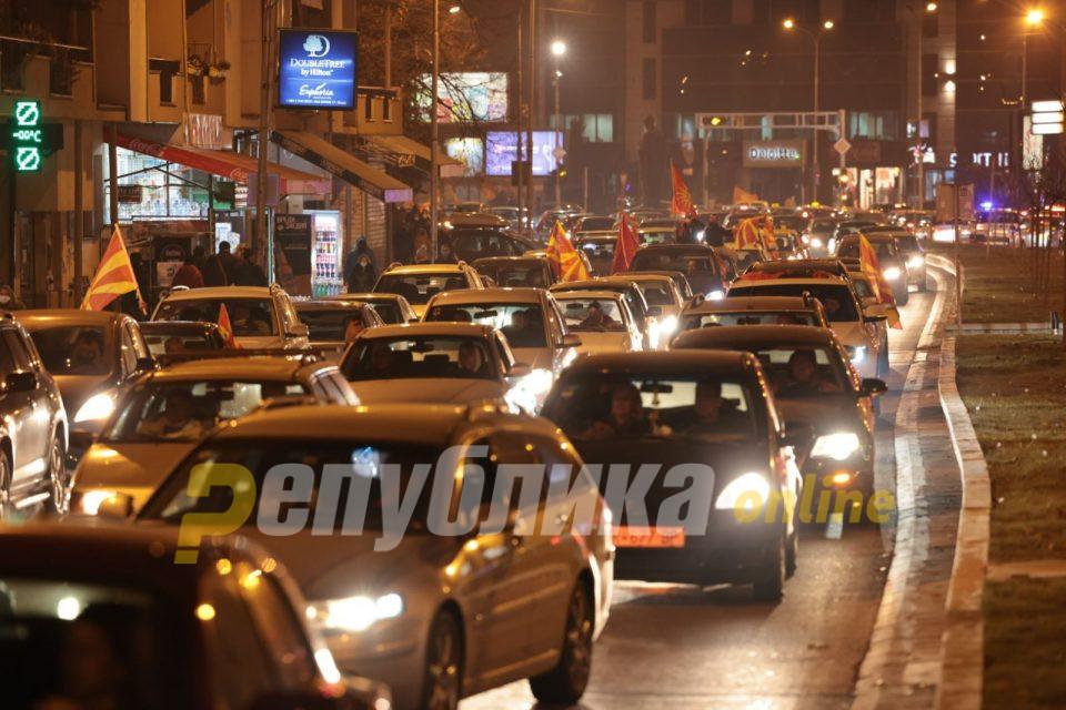 Мицкоски: Време е Македонците повторно да се борат и изборат за своите правдини!