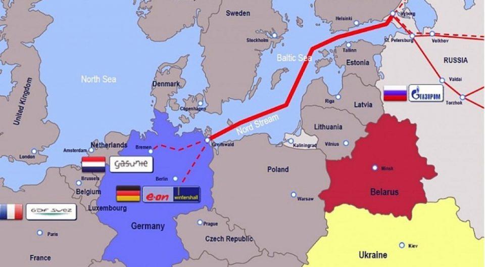 """САД, Полска и Украина: Гасоводот """"Северен поток 2"""" ќе ја направи Германија зависна од Русија"""