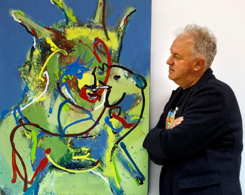 Дела од Андреевски и Никола Иванов Балтон на ретроспективна изложба во САД