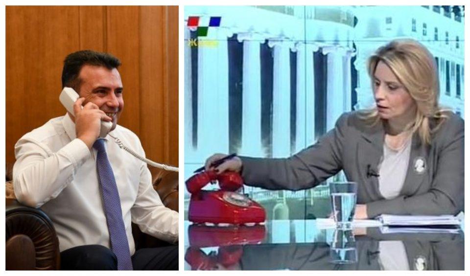 Црвениот телефон на Телма заѕвони под директива на премиерот Заев