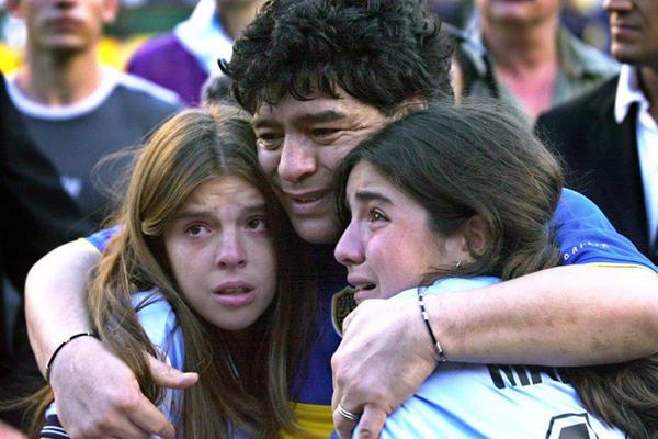 Ќерките и сопругата на Марадона нема да добијат ништо од неговото наследство