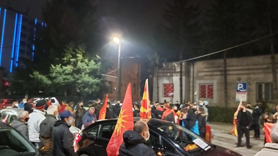 Тошевски: Битолчани ќе останат на улиците до конечниот пад на квинслиншката влада на Заев