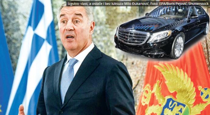 Сложни попови…: Новата власт во Црна Гора нема да му го земе на Ѓукановиќ Мајбахот од 600.000 евра