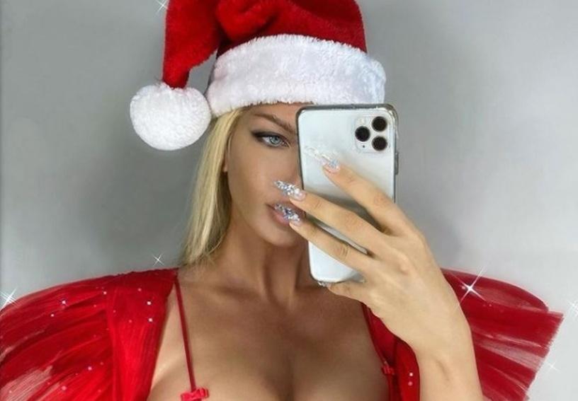 Јелена е најсекси Дада Мразица: Карлеуша со новогодишна честитка за фановите