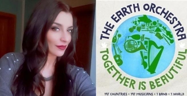 """Андријана Јаневска: Македонка во светскиот музички проект """"Together Is Beautiful"""""""
