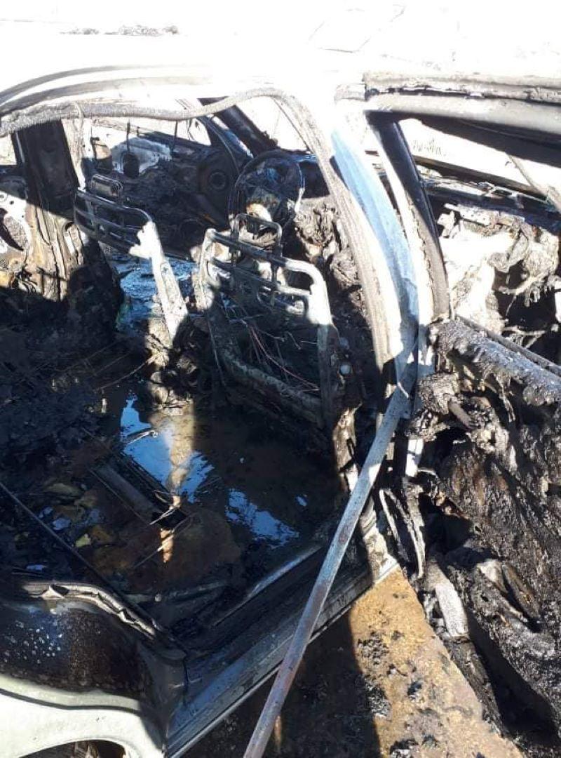 Целосно изгоре автомобил сред Струмица