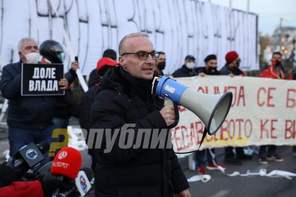 Милошоски: Заев и Бучковски како едни од најкорумпираните политичари сега заедно ќе тргуваат со македонските национални интереси