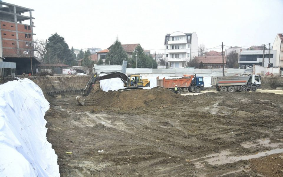 Во Чаир се гради најголмата градинка во Македонија