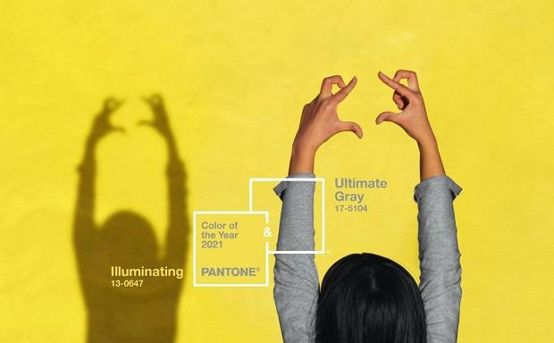 Жолта и сива – бои на 2021 година