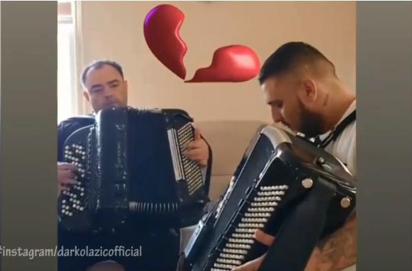 Срцето му е скршено: Дарко Лазиќ сподели снимка со покојниот татко која ја кине душата