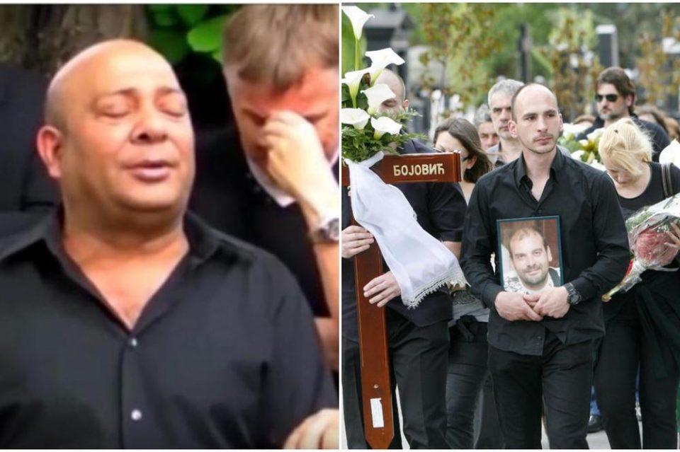 Џеј пееше и плачеше на погребот на Бојовиќ: Сега тие испратија последен поздрав