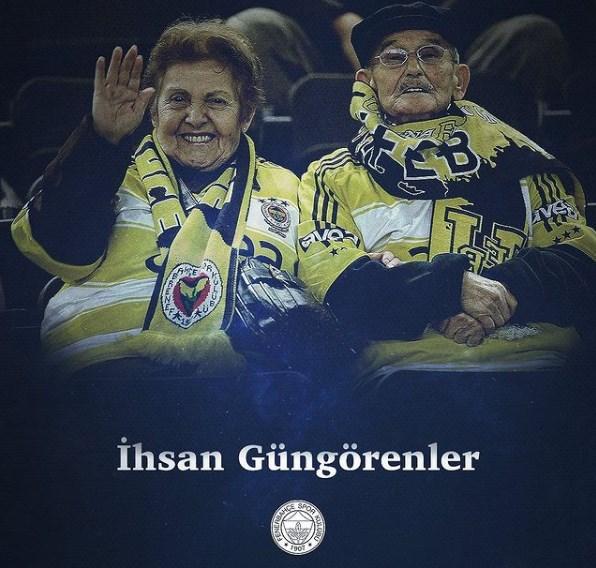 Почина и тетка Ихсан: Брачната двојка што засекогаш ќе остане запаметена од Фенербахче