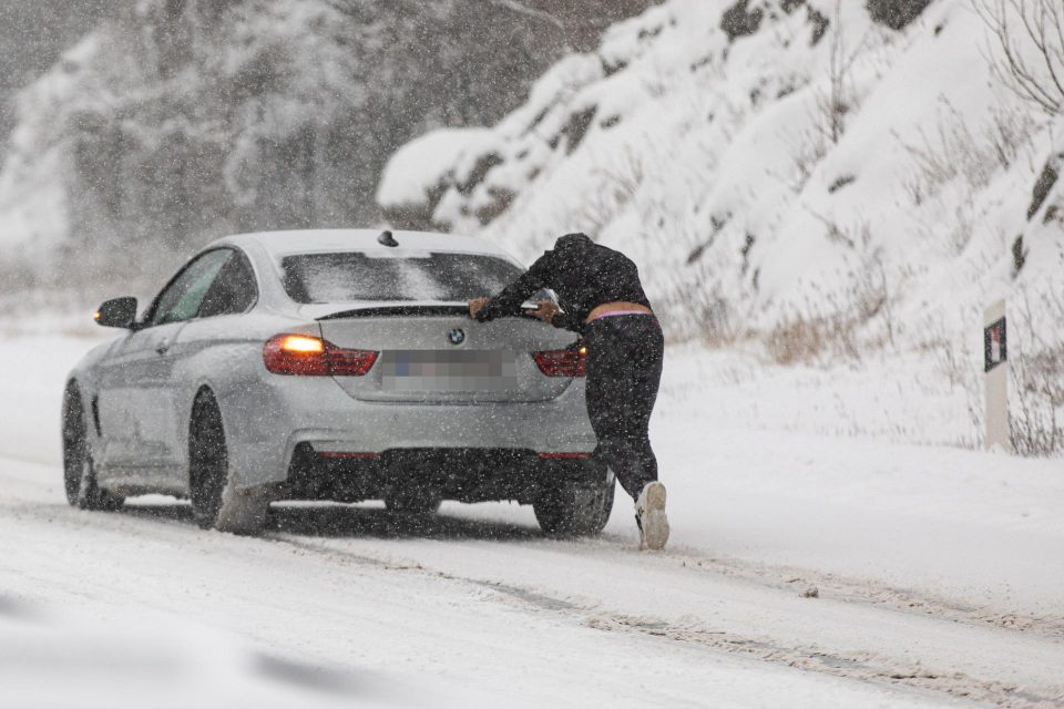 Снежно невреме во Хрватска