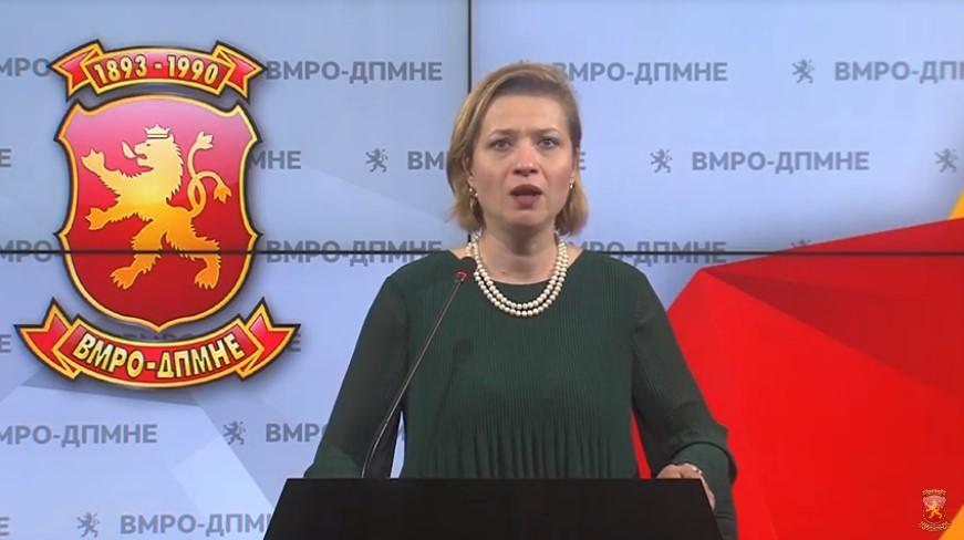 Василевска: Реформите на власта се гол популизам, зад истиот се кријат намерите за злоупотреба на 21.5 милиони евра заем од СБ