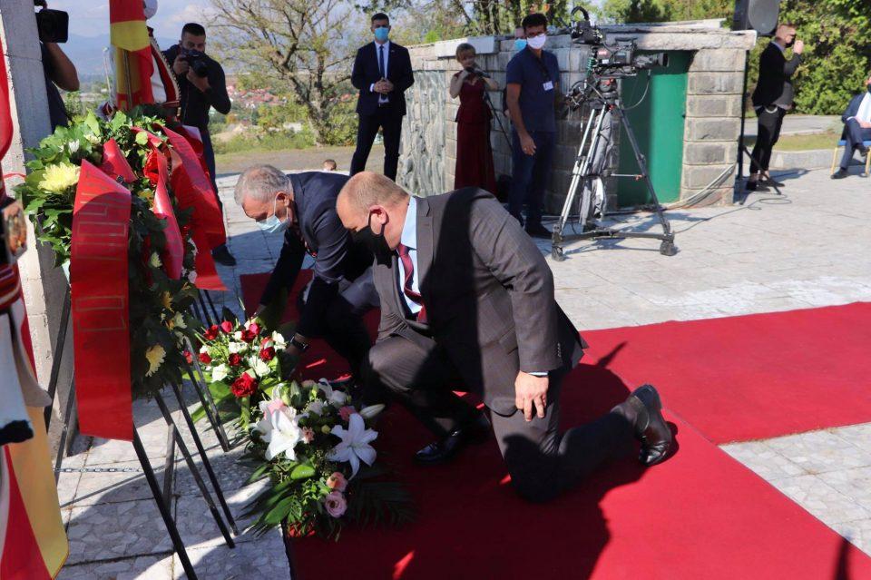 """Димитриевски: Куманово нема да ги смени плочите на кои пишува """"бугарски фашистички окупатор"""""""