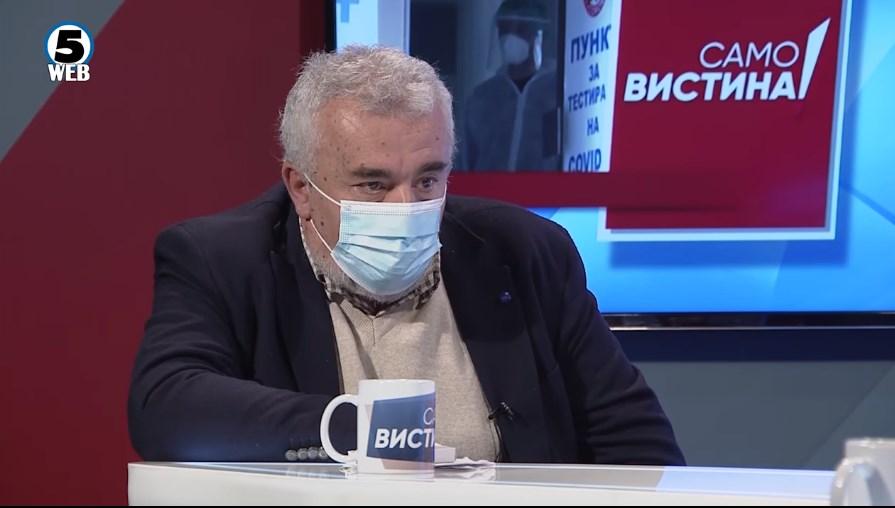 Трет бран веќе постои, вели Пановски и апелира брисеви да се земаат на отворено оти просториите се гнезда за вирусот
