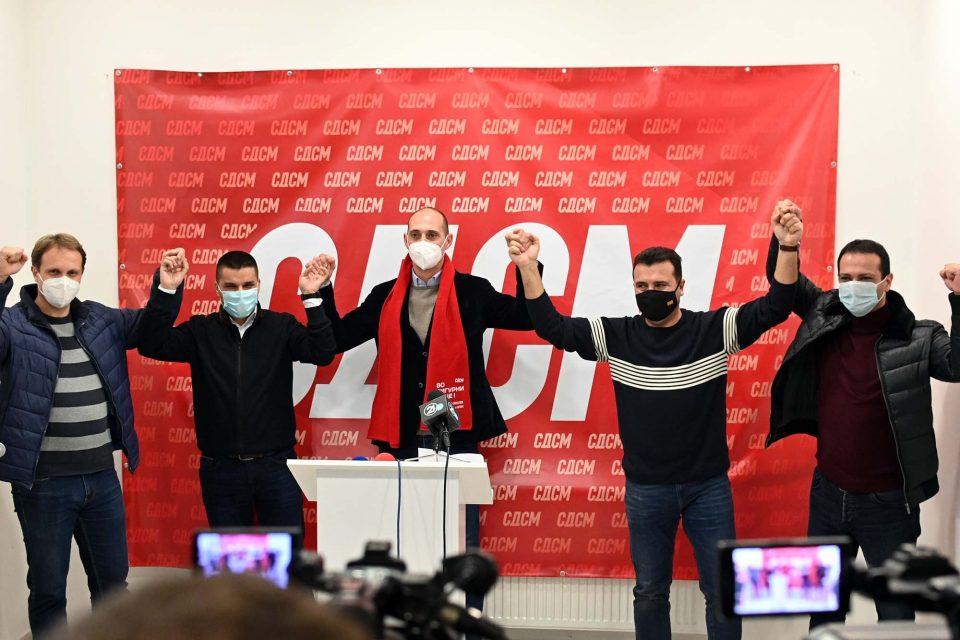 ВМРО-ДПМНЕ: Најдоброто за нашите општини е да си замине СДСМ