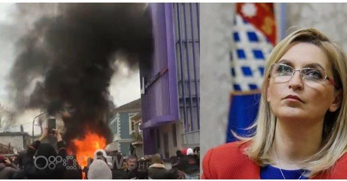 Кривична пријава за градоначалничката на Скадар поради насилните протести