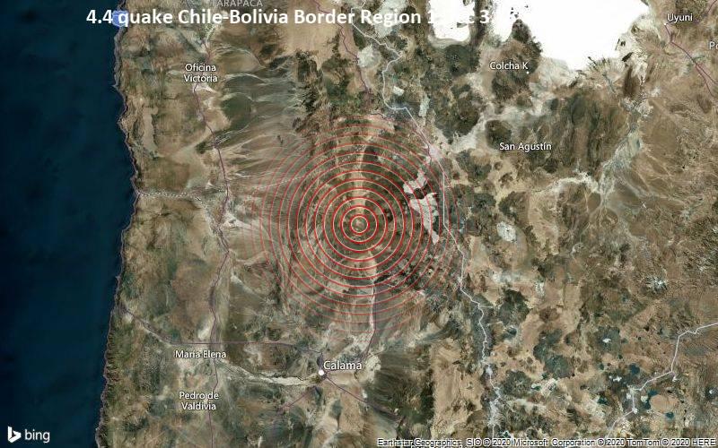 Силен земјотрес во граничниот регион меѓу Аргентина и Чиле