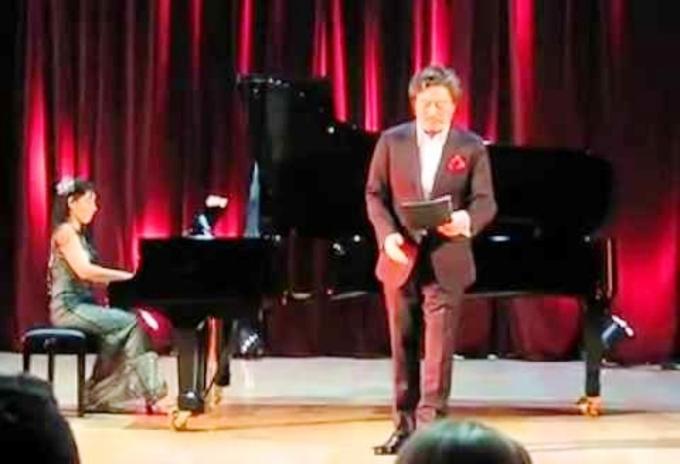 """Jапонскиот оперски пејач Казухиро Казухиро со прекрасна изведба на песната """"Ако умрам ил' загинам"""""""