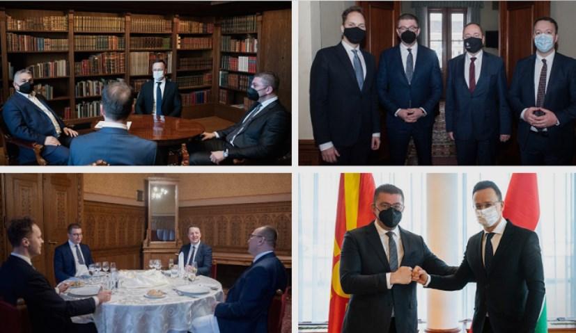 Мицкоски: Средбите со премиерите на Словенија, Унгарија и Хрватска се корисни за државата и граѓаните, мора да отвораме врати и решаваме проблеми