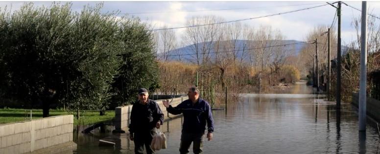 Прогласена вонредна состојба на југот на Србија поради поплави