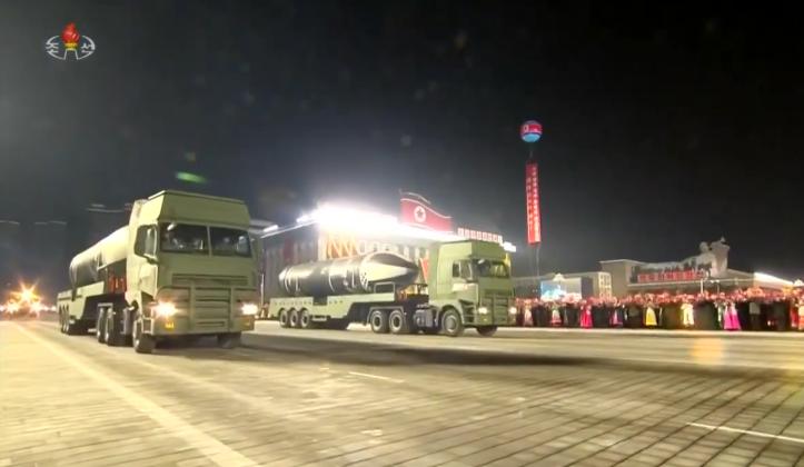 """Северна Кореја се пофали со """"најмоќно оружје"""": Презентира нови балистички ракети"""