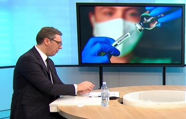 Вучиќ: Имаме вакцини, но немаме на кого да ги дадеме
