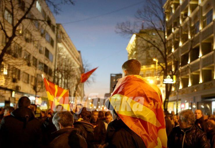 Сајкоски: На протестите во Кичево учествуваа и членови на СДСМ