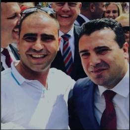 """Тик-токерот"""" со албанското знаме фотографиран со Заев"""