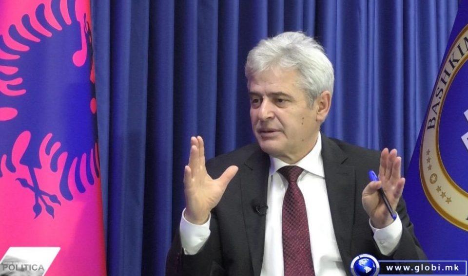 Ахмети: Убеден сум дека спорот со Бугарија ќе се реши до пролет