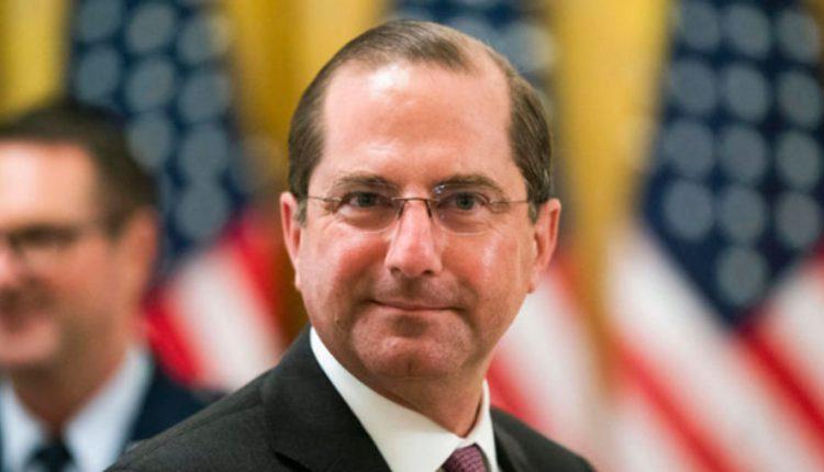 Американскиот министер за здравство Азар поднесе оставка