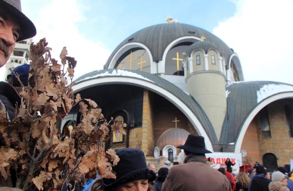 """Утре нема масовно собирање пред Соборниот храм """"Климент Охридски"""" за Бадник"""