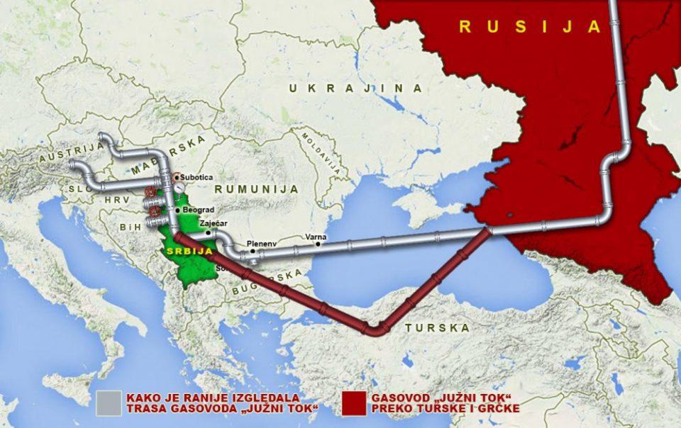 Србија ги отвори вентилите, пуштен во употреба Балканскиот тек, Maкедонија заобиколена