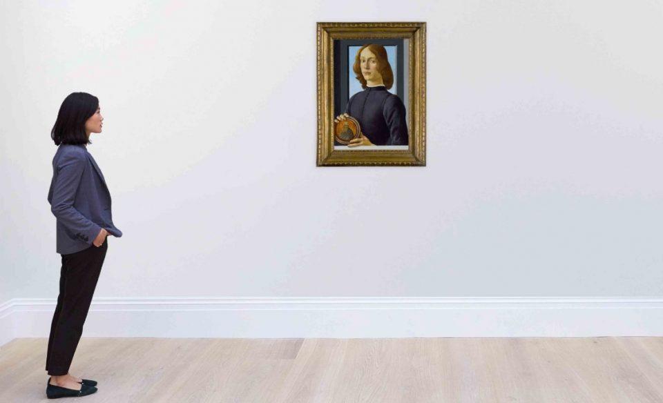 """Вредно 80 милиони долари: Ремек-делото на Ботичели """"Млад човек со диск"""" на аукција во Њујорк"""