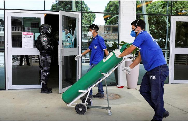 Во Бразил во еден ден од Ковид-19 умреле речиси 2.000 лица