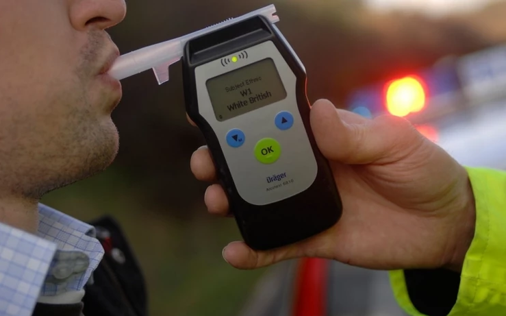 Полицајците шокирани: Маж возел со 3,71 промили алкохол во крвта