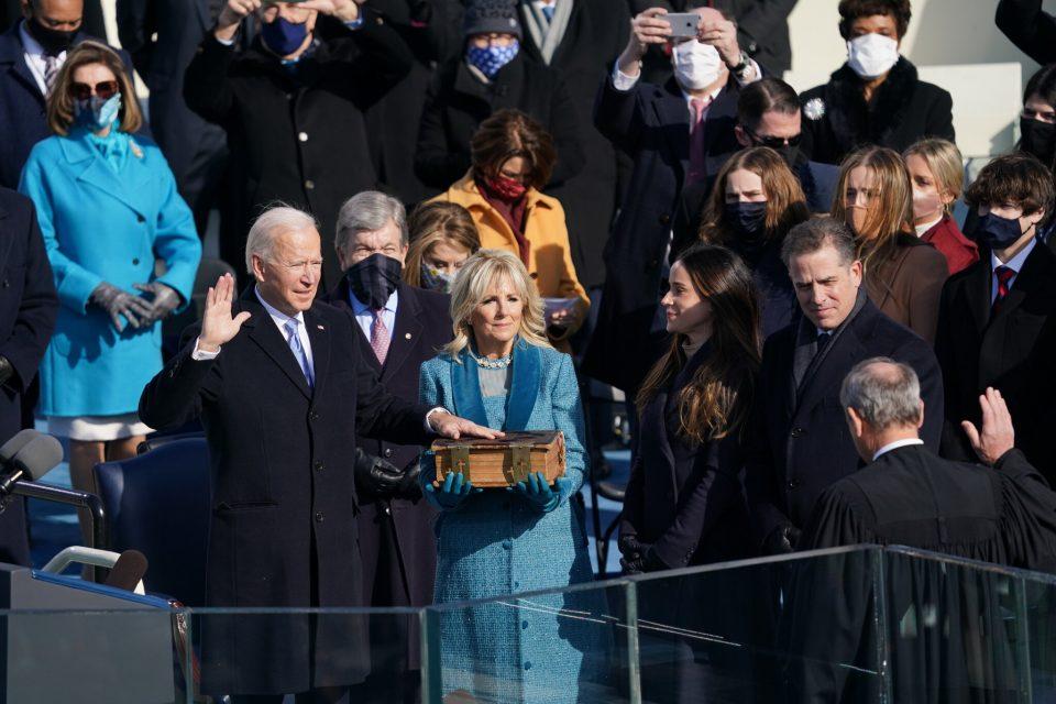 Џо Бајден положи заклетва како 46. американски претседател