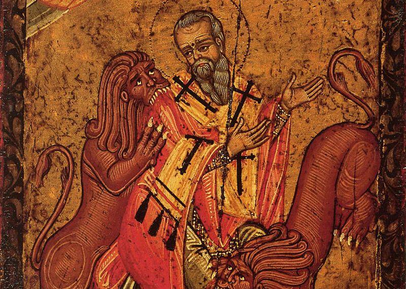 Денеска еСв. свештеномаченик Игнатиј Богоносец: Детето што Исус го носеше во прегратка