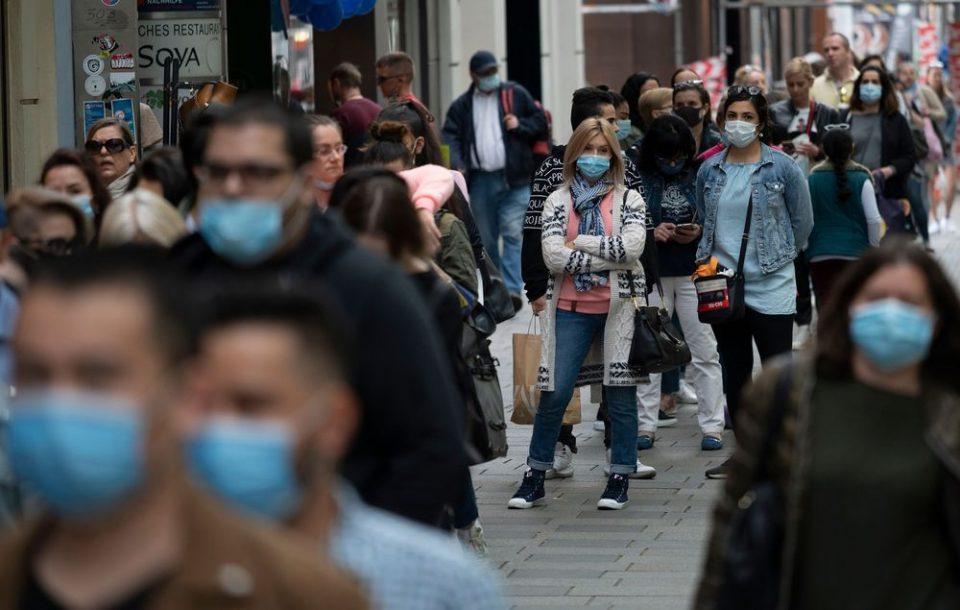 Казнети 292 граѓани за неносење маска